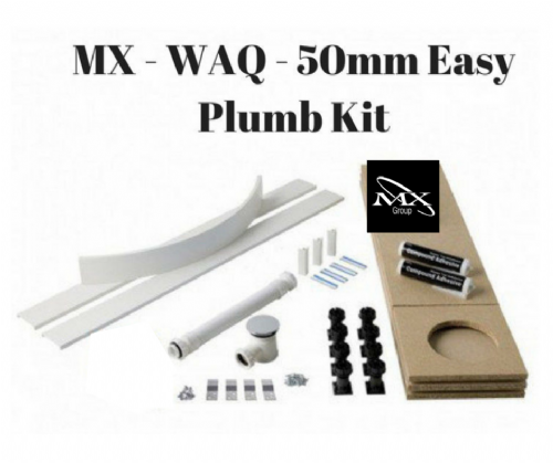 MX GROUP UNIVERSAL EASY PLUMB KIT 50MM Shower Tray Converter
